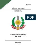 5 RE 31 - 62 CORRESPONDENCIA MILITAR  EDI 2010.pdf