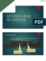 Acceso a Base de Datos 02