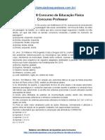 Simulado 8 Concurso de Educação Física Concurso Professor