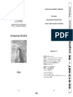 02013087 LUDWIG WITTGENSTEIN - Investigaciones Filosóficas (a Página Doble)
