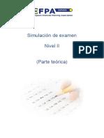 Simulacion Examen Nivel II