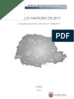 Estudo Indulto sob o Decreto de 2017