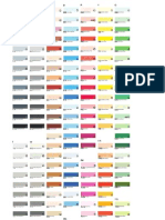 Color Chart Copic