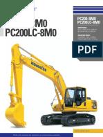 Catálogo PC200 8M0 PC200LC 8M0 Inglés Digital
