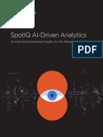 ThoughtSpot SpotIQ AI Driven Analytics White Paper