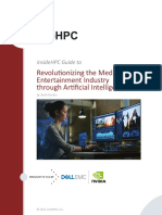 InsideHPC Guide to Media-Entertainment Through AI