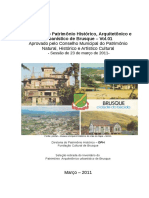 Catálogo Do Patrimônio Histórico de Brusque