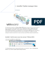 VMware ESXi - installer Update manager dans vCenter.docx