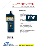 Tacometro DT 2268