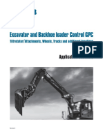 Excavator and Backhoe Loader Control GPC-Application Contents I-En