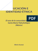 Educacion e Identidad Etnica