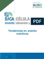 Pineda. s.f. Tendencias en Snacks Nutritivos.