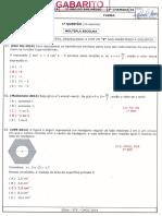 Gabarito Prf Matemática 2ano
