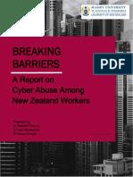 Breaking Barriers Report