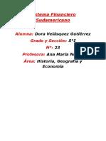 Sistema Financiero Sudamericano