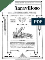 Lo Maravilloso (Madrid). 10-10-1909, n.º 13