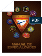 Registro de Especialidades DESBTAVADORES