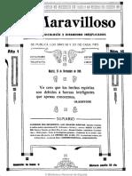 Lo Maravilloso (Madrid). 25-11-1909, n.º 16