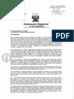 Ordenanza 281 Gobierno  Regional de AREQUIPA que promueve respeto a DERECHOS de Trabajadoras del Hogar