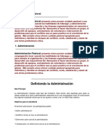 Administracion Pastoral Doc. Word