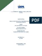 Tarea i Metodologia de La Investigacion II (Autoguardado)