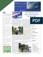 SeaSwells October 2010 Newsletter