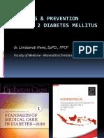 Screening & Prevention for t2dm