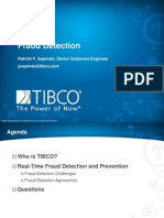 TIBCO Fraud Detection
