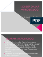 Konsep Dasar Mikrobiologi Power Point