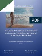 La Pintura Al Pastel Como Una Expresión Terapéutica Con Base en El Paradigma Humanista PDF