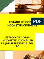 Estado de Cosas Inconstitucionales