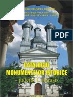 CATALOGUL MONUMENTELOR CALARASI  - ROMANIA-2008