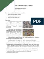 Industri Karbon Dan Keramik