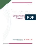 New Age Employee Empowerment