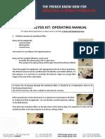 EXAGO-Group - Fluid Analysis Kit, Operating Manual-1.pdf