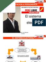 Capacitacion Personeros Peru Libre