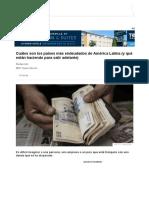 Cuáles Son Los Países Más Endeudados de América Latina (y Qué Están Haciendo Para Salir Adelante) - BBC News Mundo
