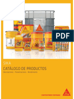 Catalogo de Productos SIKA