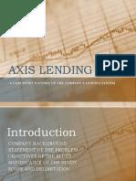 Axis Lending Co