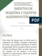 elementos de maquina y equipos agroindustriales