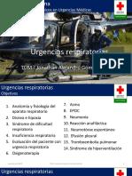 Urgencias respiratorias