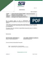 Solicitud Anular CDP