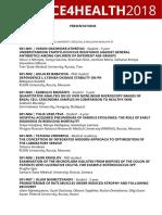 #SCIENCE4HEALTH2018 - Presentations.pdf