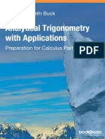 Analytical Trigonometry With Applications 1