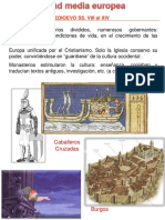Edad Media Románico Gótico