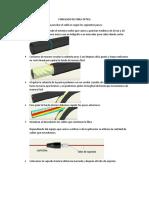 Ponchado de Fibra Optica