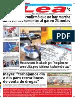 Periódico Lea Martes 09 de Octubre Del 2018
