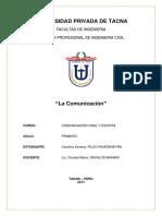 La Comunicacion (Linguistica)