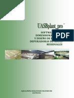 Software Para Dimensionamiento y Diseño de Plantas Depuradoras de Aguas Residuales