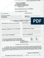 Prosecutor Office. Form